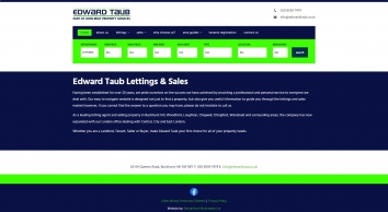 Edward Taub & Co, Buckhurst Hill - Sales
