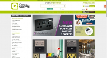 The Electrical Counter - No. 1 For Switches & Sockets