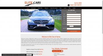 Elite Cars Guildford Taxi Quote 01483 370037 - Woking Airport Taxis