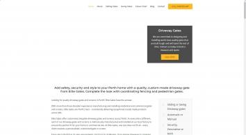 Elite Gates | Locally Made Gates