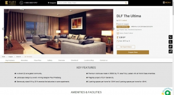 DLF The Ultima in Sector 81 Gurgaon | Price, Location Map, Review