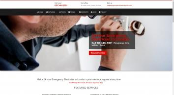 24 hour Emergency Electrician London 365