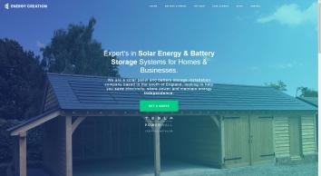 Energy Creation: Solar Panel & Solar Battery Storage Installer