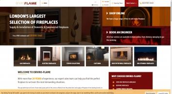 Enviro-Flame Fireplaces