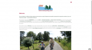 Welcome | EOS Cycling Holidays