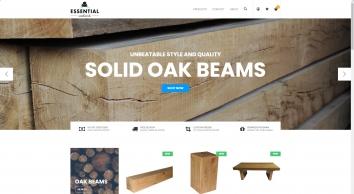 Oak Beams, Shelves, Sills, Skirting & Doors - Essential Woodwork