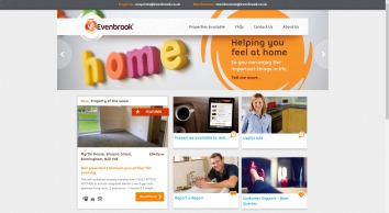 Evenbrook Letting Agents in Birmingham