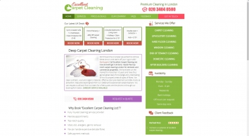 Carpet Cleaning London By Excellent Carpet Cleaners Ltd.