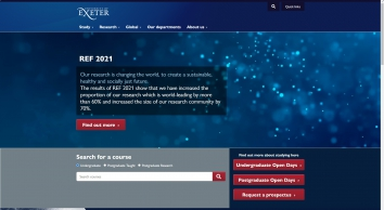 University Of Exeter in Cornwall