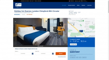 Holiday Inn Express Chingford - Book Direct for Best Rates