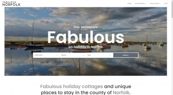 Fabulous Norfolk Holiday Cottages & Self Catering Homes