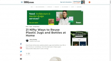 21 Nifty Ways to Reuse Plastic Jugs and Bottles at Home | The Family Handyman