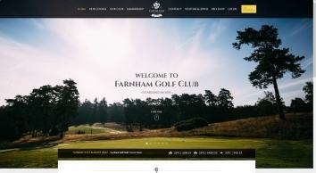 Farnham Golf Club in Surrey  Surrey Golf, Farnham Golf