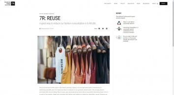 March\'s 7R: REUSE — Fashion Takes Action
