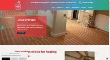 Fast Fit Heated Flooring