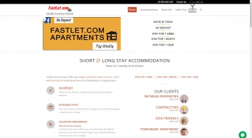 Carylls Country House | Short & Long Stay Apartments