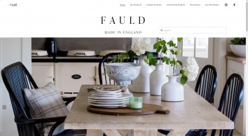 Bespoke made to order furniture specialists  - Fauld England