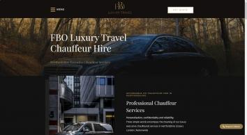 FBO Luxury Travel | #1 Chauffeur Hire Hertfordshire & Essex