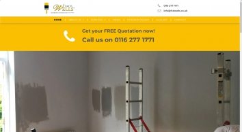 F & CD Wells Ltd: Leicestershire's painting and decorating experts