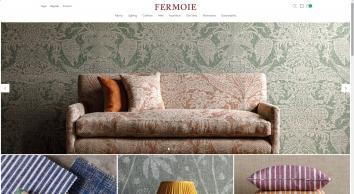 Fermoie - Premium printed fabric designed in UK