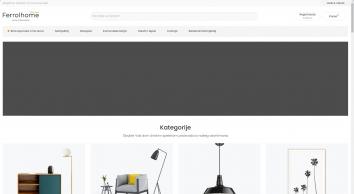 Namještaj, Rasvjeta, Kućna dekoracija Crna Gora - Ferrolhome.com