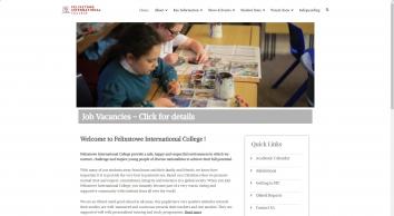 Felixstowe International College