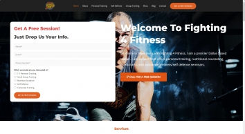 Fighting 4 Fitness-Dallas, TX Personal Trainer-Steve Hess