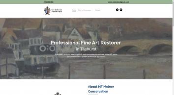 Fine art restorations by MT Molner Conservation in Reading