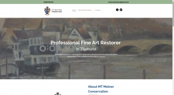 Fine art restorations by MT Molner Conservation in Reading