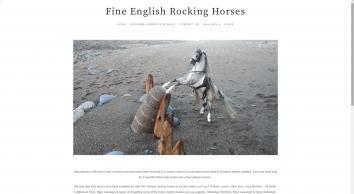 Fine English Rocking Horses