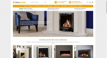 Gas Fires, Electric Fires, Fireplaces and Stoves for Sale - Fires2u.com