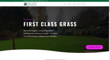 First Class Grass, Artificial Grass Specialists