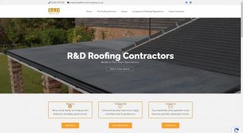 R & D Roofing - Flat Roofing Contractors