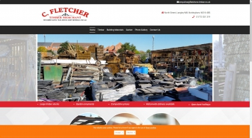 Joiner Nottingham, C. Fletcher Timber Merchants