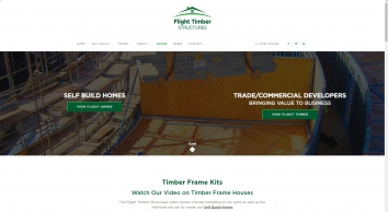 Timber Frame Houses - Timber Frame Kits - Self-build Homes
