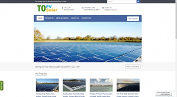 Topper Floating Solar PV Mo…