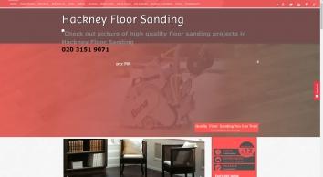 Hackney Floor Sanding, E9 - Affordable Wood Floor Resurface, Professional Restoration.