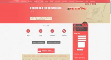 Honor Oak Floor Sanding, SE23 - Affordable Wood Floor Resurface, Professional Restoration