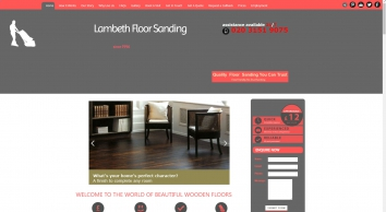 Lambeth Floor Sanding SE11 - Affordable Wood Floor Resurface, Professional Restoration.
