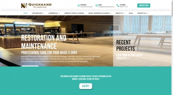 Quicksand Flooring London
