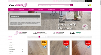Laminate Flooring | Sale 50% | Free Samples | Floors Direct