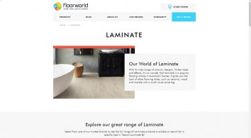 Laminate Flooring Melbourne, Sydney, Hobart - Floorworld