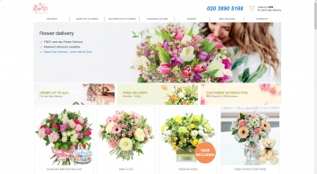 Flowers by Post UK | Send Flowers | Flower Delivery