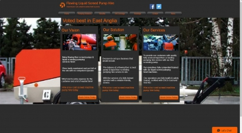 Liquid Screed Flowing Screed Pump Hire Services