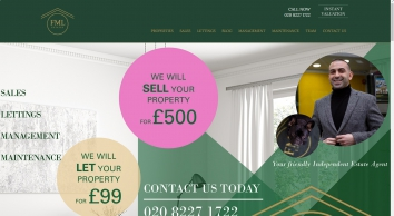 FML Estates - sales, letting, property management in London and South East