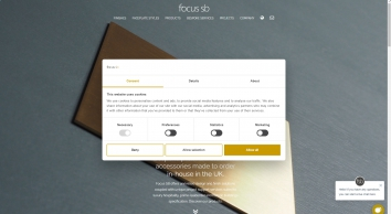 Designer electrical wiring accessories, UK | Focus SB Ltd