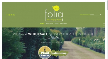 Folia Topiary Plants UK