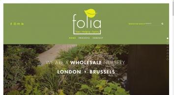 Folia Topiary Plants UK
