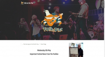 Folk on the Pier | The Best Gig On The North Sea