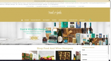 Food of the Gods | Food and Wine Gift Hampers | Gift Baskets